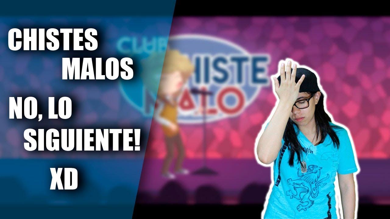 VIDEOREACCION | CHISTES MALOS NO, LO SIGUIENTE! XD | CCM #2 | Steffi Carriles