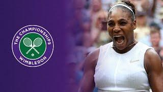 wimbledon : Serena Williams Qualifiée Pour Les Demies Après Un Rude Combat