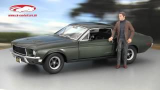 СК-modelcars-відео: Форд Мустанг GT Car фільм булліт Стів Маккуїн Гринлайт