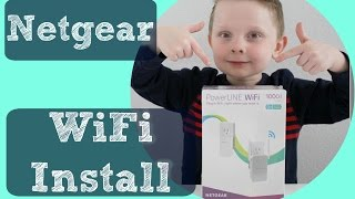 Netgear PowerLine 1000 Install