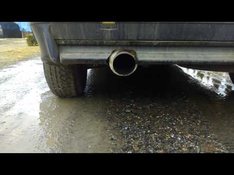 BMW e36 316i compact  exhaust max rpm