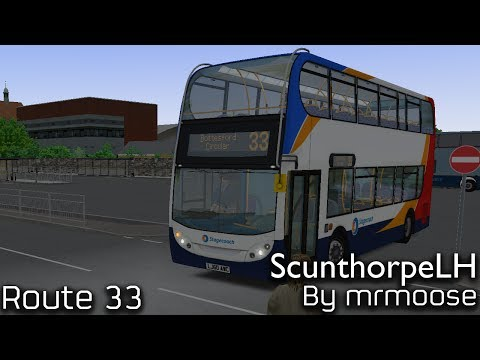 OMSI 2 Scunthorpe LH (Beta) Route 33