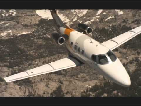 EMBRAER Executive Jets In flight scenes