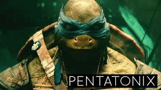 Repeat youtube video Pentatonix - We Are Ninjas (Official) | Teenage Mutant Ninja Turtles (2014 Movie)