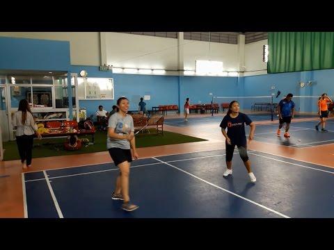 อย่างฮา Badminton Exercise ไทยแบดมินตัน ลดน้ำหนักกันมะ