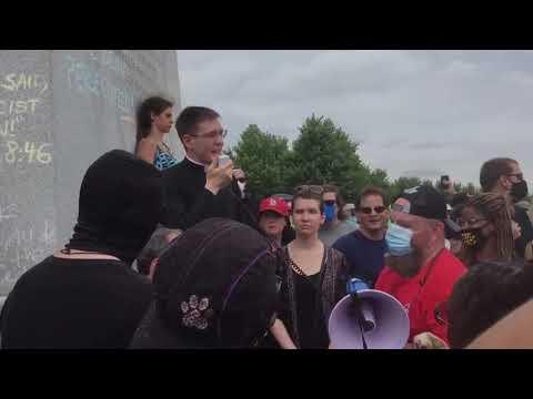 Fr Stephen Schumacher Defends Statue of St. Louis
