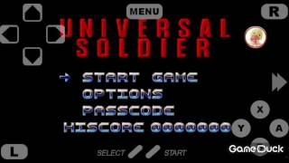 Gameplay/Soldado Universal(Super Nes)