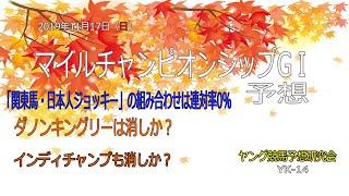 【ヤング競馬予想研究会】マイルチャンピオンシップ