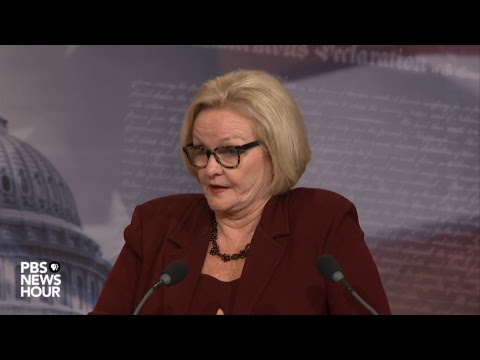 WATCH: Sen. Claire McCaskill to release the results of her opioids investigation