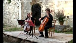 Duo Tutticelli: Joseph Bodin de Boismortier - Sonate III op.14  Allemande. Gayment