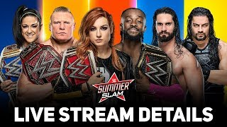 WWE SummerSlam 2019 Live Stream Details: Time & Where To Watch | Full Match Card!!