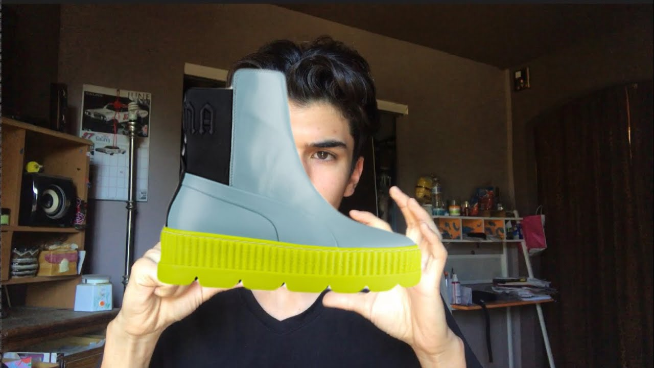 e8be5f10c7c1 Rihanna Fenty Chelsea Boots! First impression Mad Scientist - YouTube