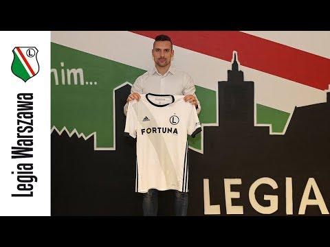 Marko Vešović piłkarzem Legii