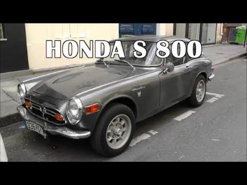 Honda S 800 in Paris - rare Classic Car / seltener Oldtimer (1966-1970)