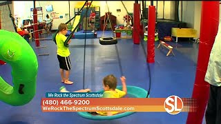 We Rock the Spectrum Scottsdale is a kids gym for children with sensory processing disorders. thumbnail