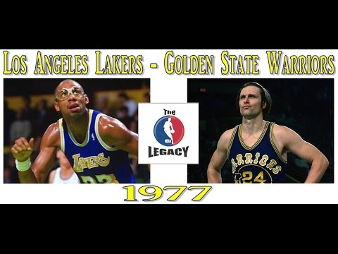 [The NBA Legacy] 1976-1977 playoffs. Los Angeles Lakers - Golden State Warriors (game 6)