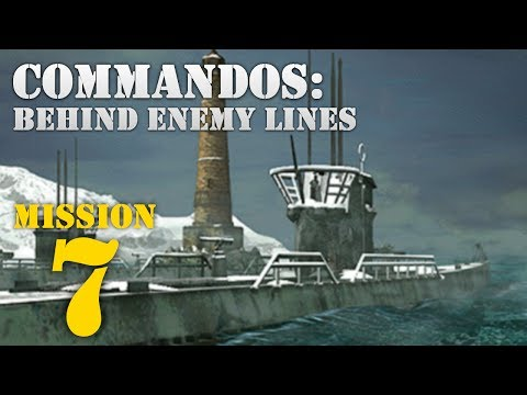 Commandos: Behind Enemy Lines -- Mission 7: Chase of the Wolves