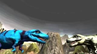 Динозавр Атака