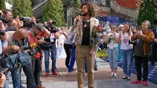 В Витебске зажглась именная звезда Филиппа Киркорова