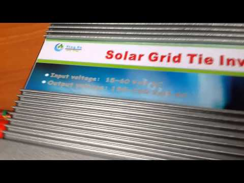 500W Grid Tie Inverter 15-60V DC for 24v/36v/48v solar panel
