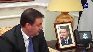 الرزاز يستقبل وفدا روسيا برئاسة وزير الزراعة دميتري باتروشيف - (14-11-2019)