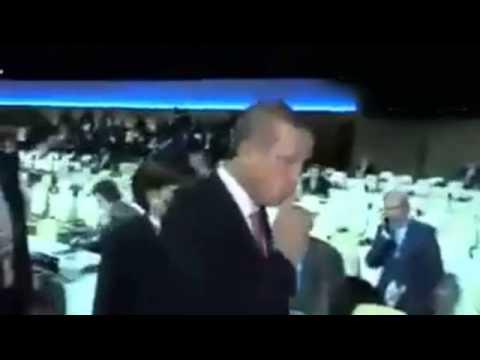 Erdoğan'dan Rus muhabire sus işareti