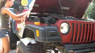 Painting Jeep Fenders