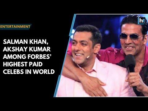 Salman Khan, Akshay Kumar among Forbes' highest paid celebs in world Mp3