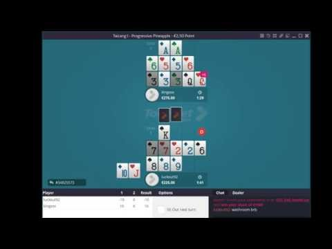Pineapple OFC Play-by-play #4: Progressive - Called the Queens (17:00)