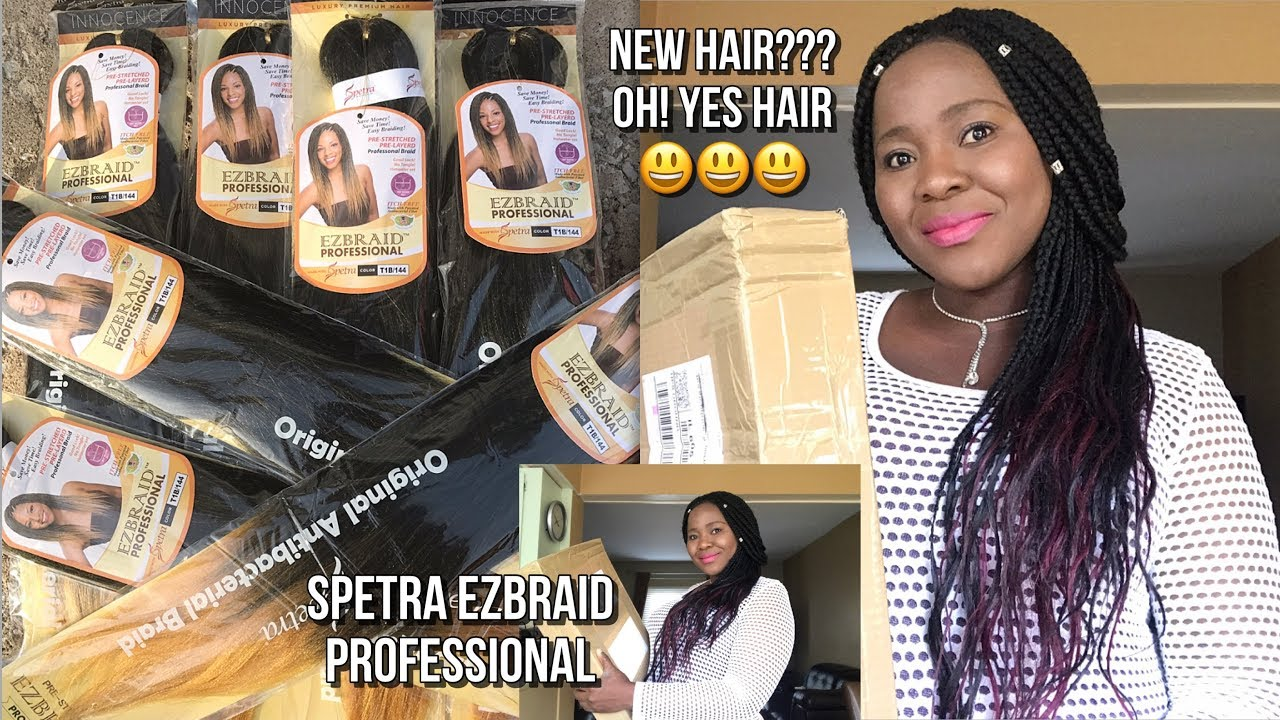 SPETRA EZBRAID PROFESSIONAL ITCH FREE HAIR REVIEW  YouTube