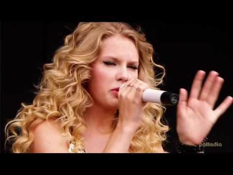 You Belong With Me, Forever & Always & Love Story By Taylor Swift (V Festival)