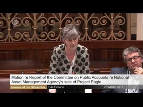 Catherine Connolly: NAMA PAC Project Eagle 29 03 17