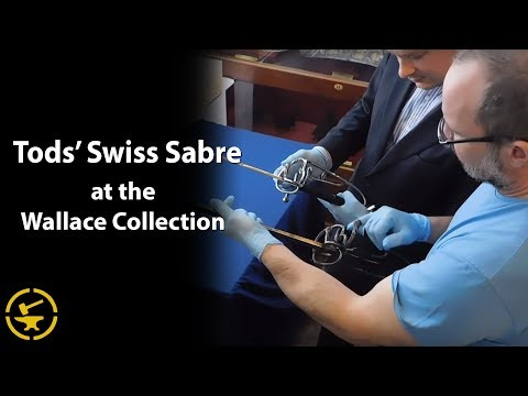 "Wallace Collection ""Swiss Sabre"" - with Tobias Capwell and Tod Todeschini of Tods Workshop"