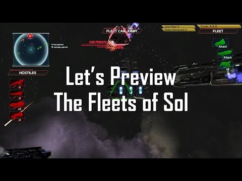 Let's Preview The Fleets of Sol - A Capital Good Time!