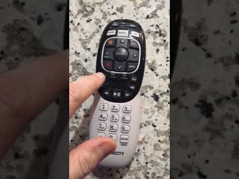 Directv remote red light stays on rc72