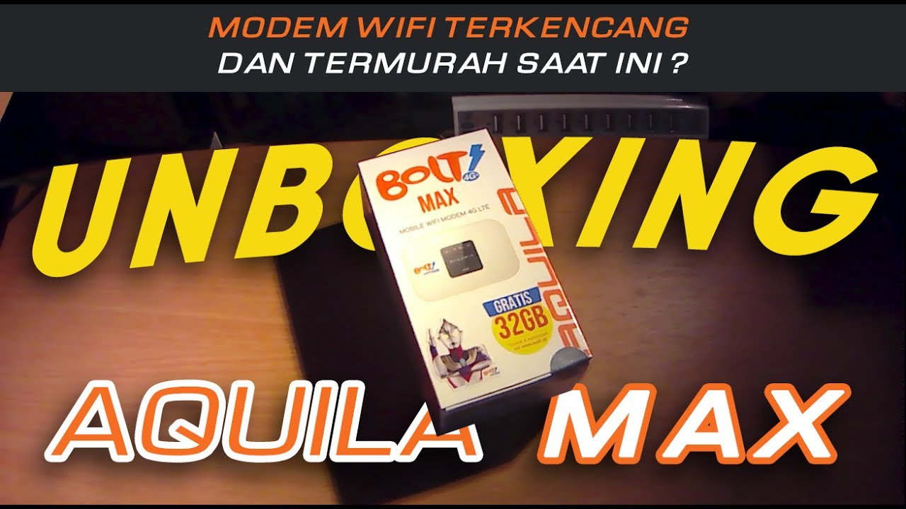 Bolt Aquila Max Unboxing Youtube Mifi Modem
