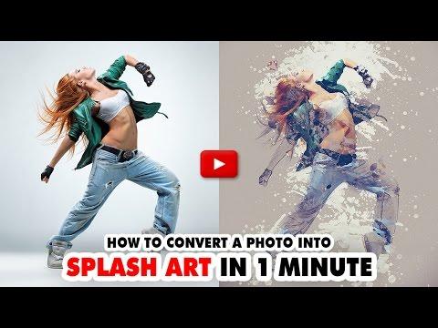 Splash Art Photoshop Action - Video Tutorial | Mesothelioma Attorney Directory Of Photoshop
