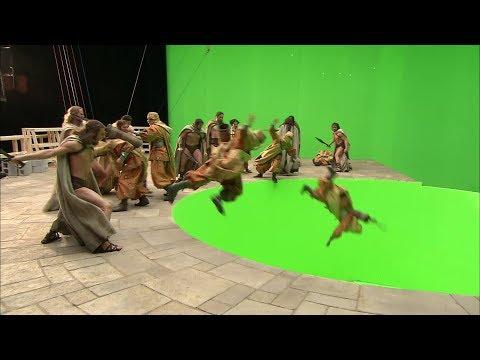 300 (2006) - CGI making of (HD)