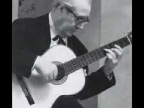 Andres Segovia the Greatest Guitarist Greensleeves