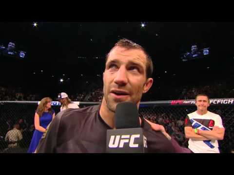 UFC 194: Luke Rockhold and Chris Weidman Octagon Interview