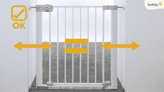 How to install Safety 1st Auto-Close baby gate