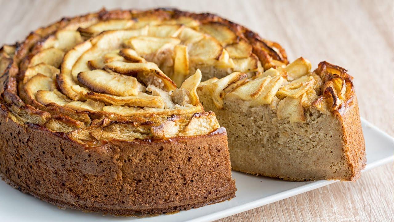Tarta de manzana y dátiles