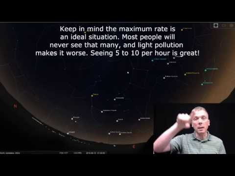 Eyes on the Sky: Perseid meteor shower
