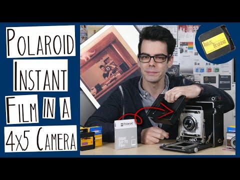 Using Polaroid 600 Film in a 4x5 Camera | MAKING AN INTEGRAL FILM BACK