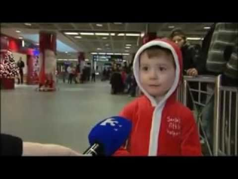 Little Boy Is Too Happy @ Dublin Airport