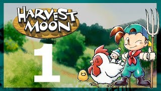 Harvest Moon 64 - EP 1: Childhood Memories - Let's Play - Commentary Gameplay