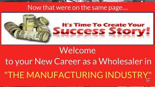 Manufacturing Wholesaler Opportunity