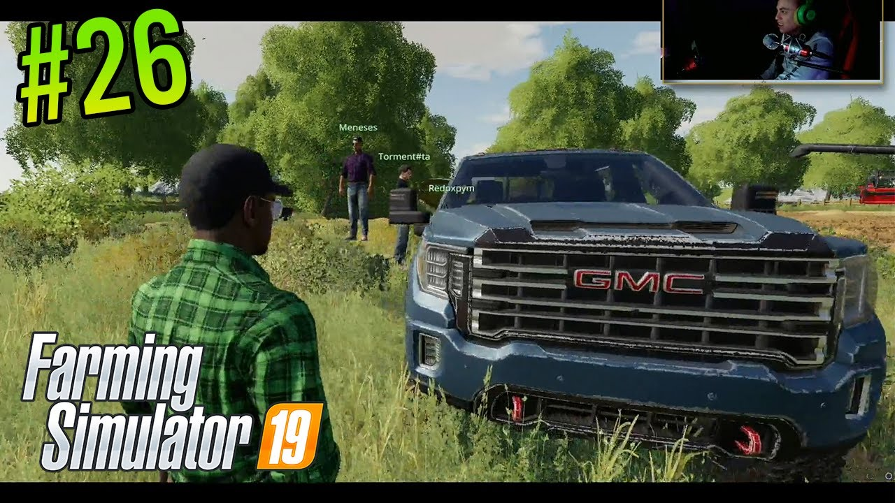 Farming Simulator 19 | #26 Multi | Un nuevo trabajador en la granja, y un estorbo en el cultivo
