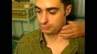 Examen des aires ganglionnaires cervicales