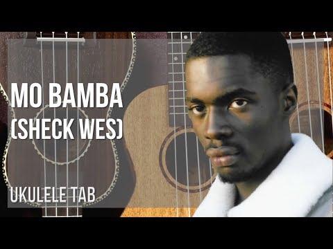 EASY Ukulele Tab: How to play Mo Bamba by Sheck Wes